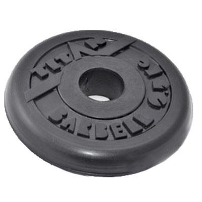 Блин обрезиненный TITAN Barbell 0,5 кг (d26)